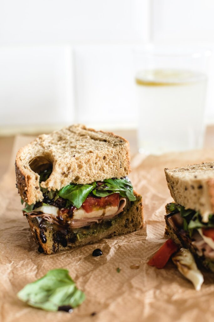 Three easy summer sandwiches