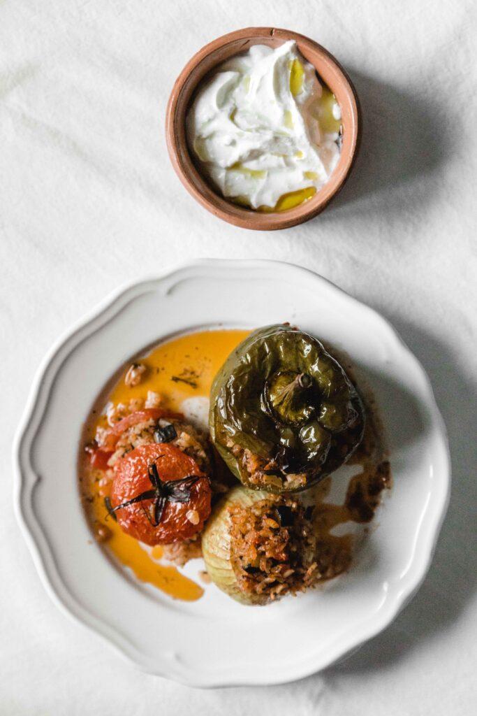 Gemista – Greek stuffed vegetables