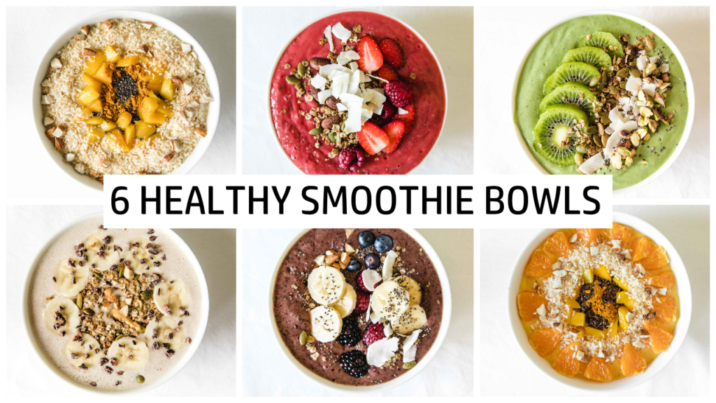 Six smoothies for a healthy start to your day!