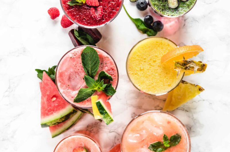 Agua fresca, six delicious ways!