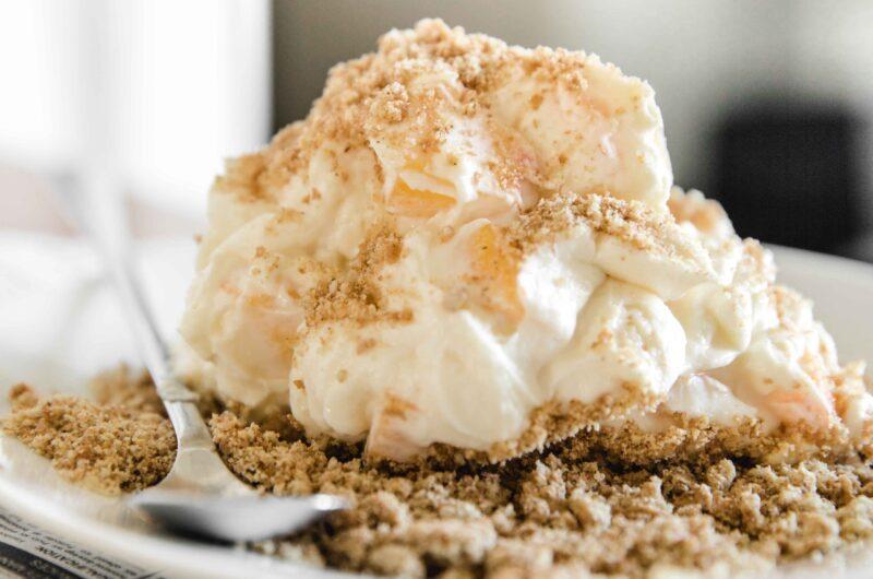 5 minute no bake nectarine cheesecake
