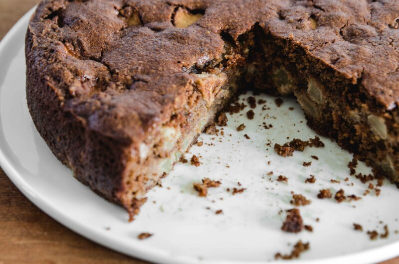 Apple Cake With Brown Butter
