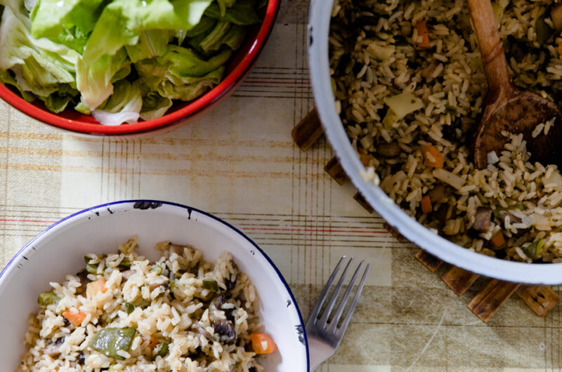 Healthy Vegetable Risotto