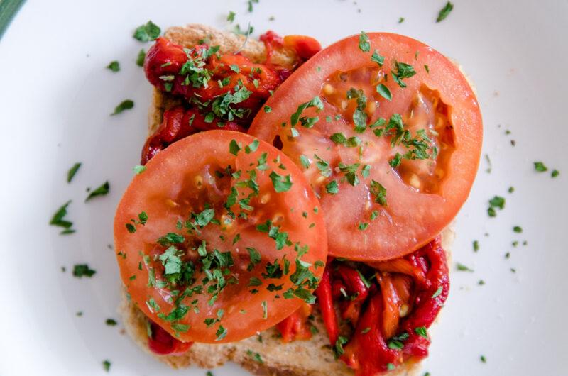 Grilled Pepper Sandwich