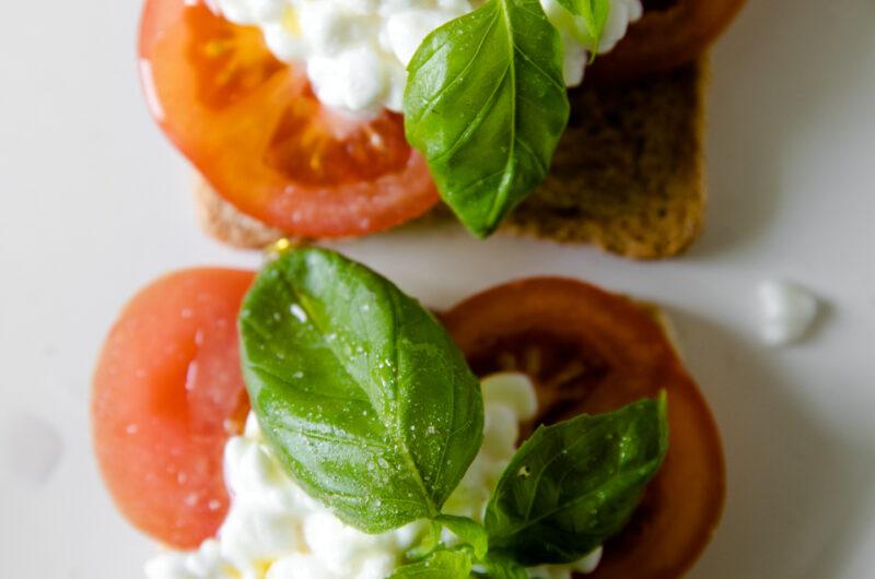 Healthy Caprese Sandwich